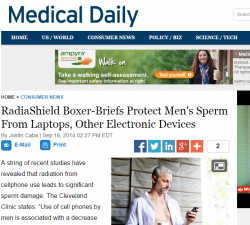 RadiaShield Boxer Briefs Protect Men s Sperm From Laptops  Other Electronic Devices